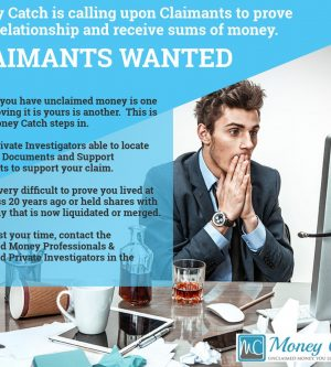 Calling upon Claimants for Unclaimed Money Australia