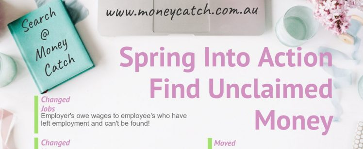 Spring Into Action, Find Unclaimed Money