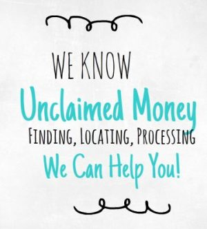 We Know Unclaimed Money